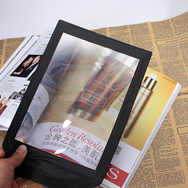 A4 Full Page 305x195mm Assisted reading 3X Magnifying Magnifier