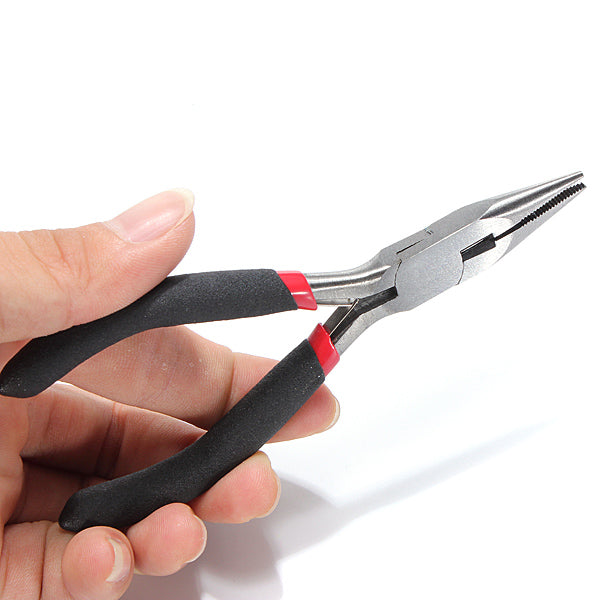 5pcs Cutting Long Round Bent Nose Making Jewelry Pliers Tools Kit