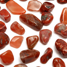 Load image into Gallery viewer, 50g Natural Red Agate Gravel Onyx Quartz Stone Minerals Specimens DIY Findings Design