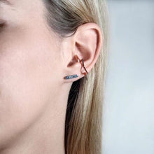 Load image into Gallery viewer, Punk Hollow Star Ear Clip for Women's Earring