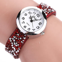 Load image into Gallery viewer, DUOYA DY005 Retro Style Ladies Bracelet Gift Quartz Watch