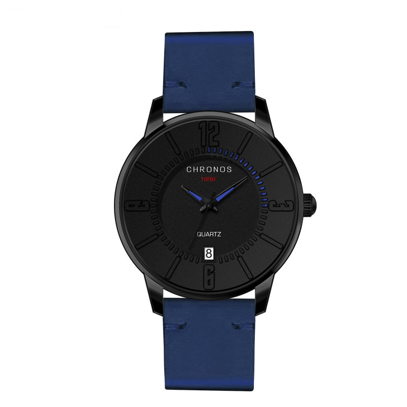 CHRONOS Casual Style Date Display Colorful Men Wrist Watch
