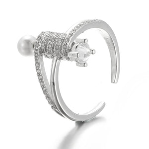 JASSY® Luxury 925 Sterling Silver Ring