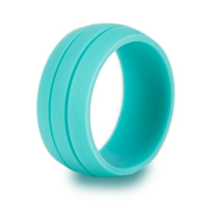 8.5MM Trendy Colorful Environmental Silicone Unisex Ring