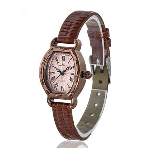 Deffrun Rectangle Dial Fashion Casual Women Wrist Watch