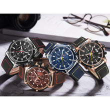 Load image into Gallery viewer, MINI FOCUS MF0175G Military Style Luminous Men Quartz Watch