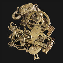 Load image into Gallery viewer, 12Pcs Zodiac Vintage DIY Antique Bronze Pendant Ornaments