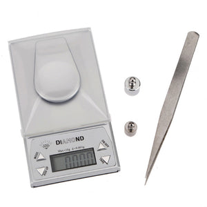 0.001g-10g Mini High Precision Jewelry Weighing Scales