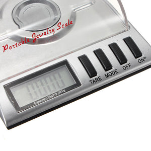 0.001g x 30g Digital Jewelry Pocket Scale Gram Precise Weighing
