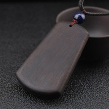 Load image into Gallery viewer, Ethnic Ebony Wood Necklace
