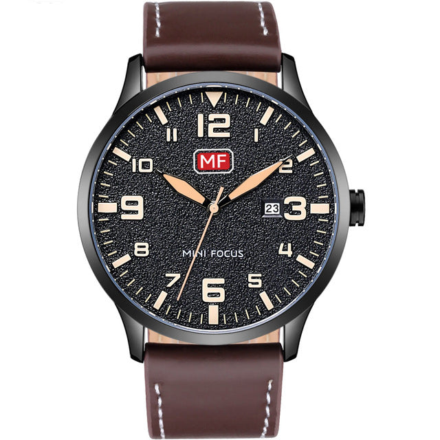 MINI FOCUS MF0158G Ultra Thin Casual Style Men Watch