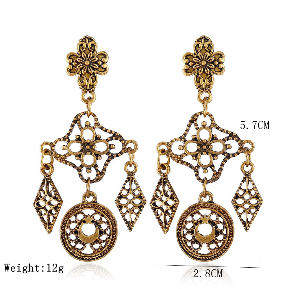 Vintage Ear Drop Earrings