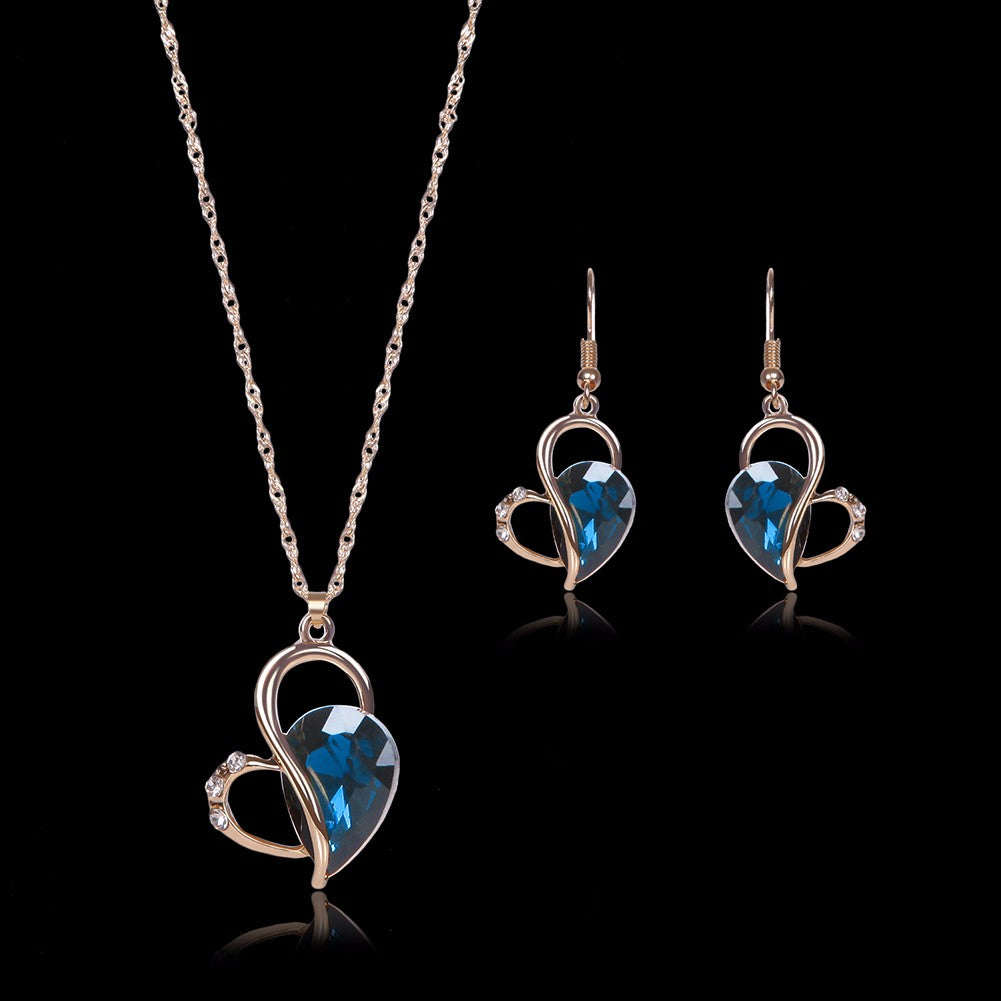 Heart Jewelry Set