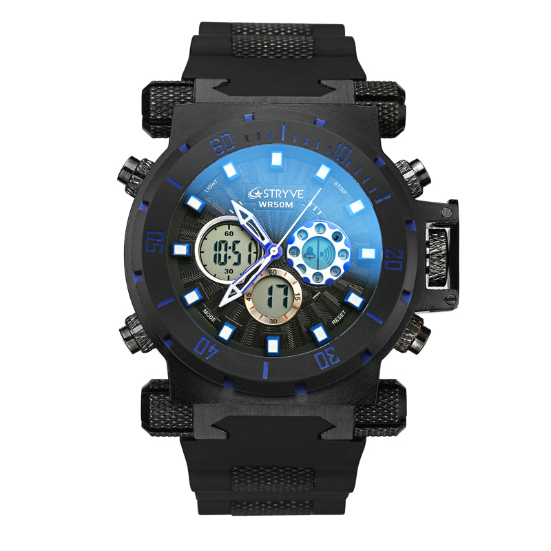 STRYVE S8015 Dual Display Digital Watch