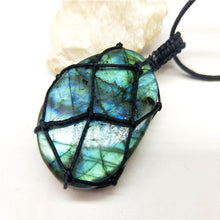 Load image into Gallery viewer, Natural Stone Long Necklace