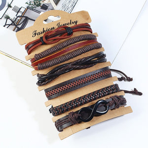 Retro Woven Multilayer Bracelet (01)