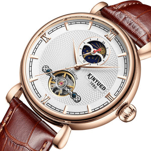 KINYUED JYD-J031 Moon Phase Automatic Mechanical Watches