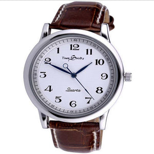 Retro Style Reverse Time Movement Couple Watches