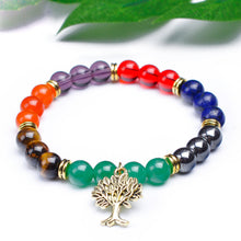 Load image into Gallery viewer, Ethnic Life Tree Pendant Bracelet