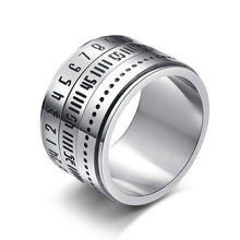 Load image into Gallery viewer, Unisex Time Loop Titanium Steel 316L Stainless Steel Ring
