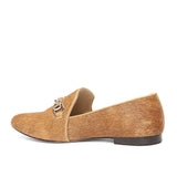 Saint Joan Tan Color Navy Leather Shoes