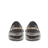 Saint Osyth  Black Color Leather Shoes