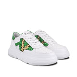 Saint Leone Black Woven Leather Ankle Boots - SaintG