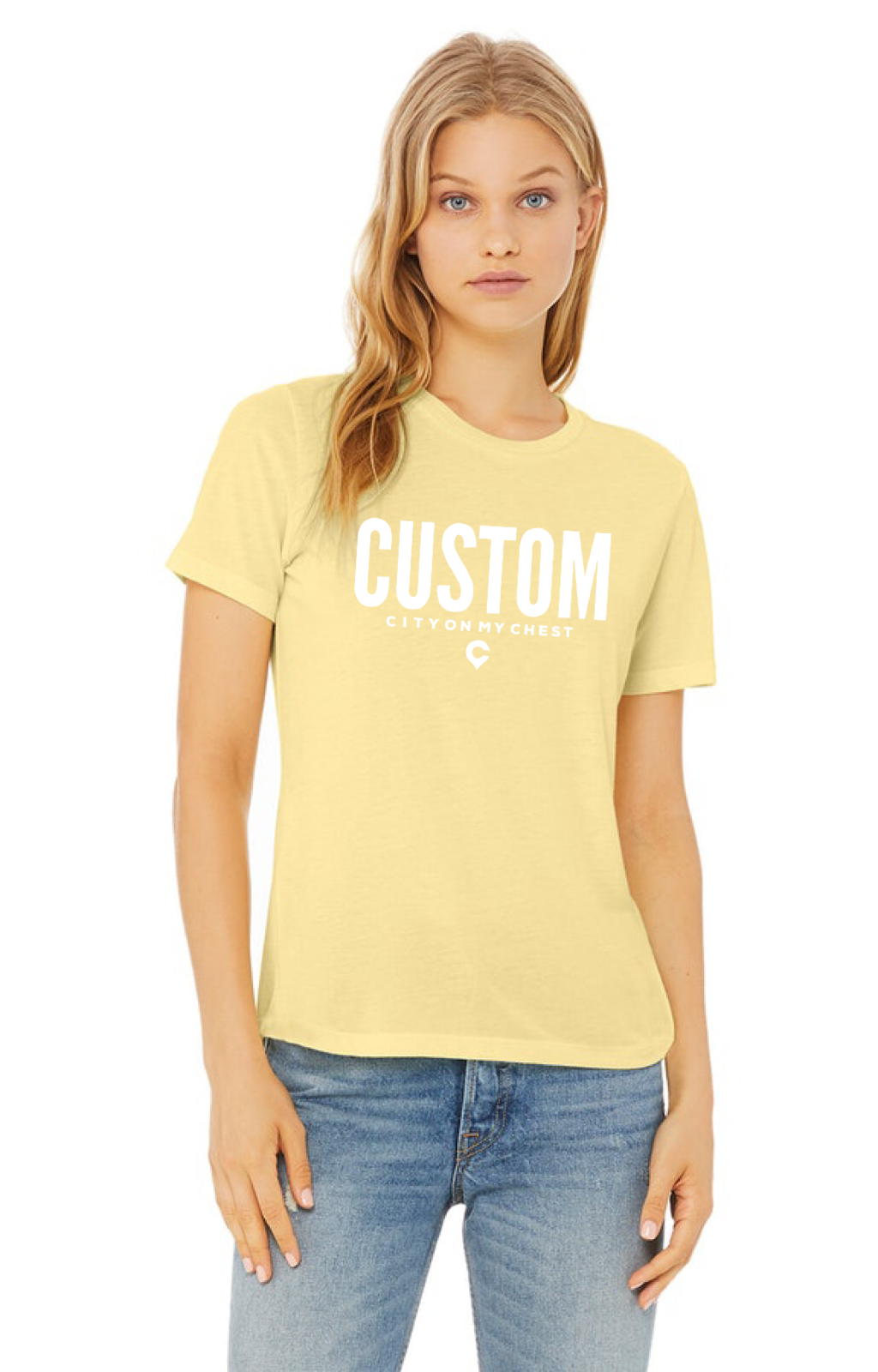 Custom Ladies Relaxed T-shirt