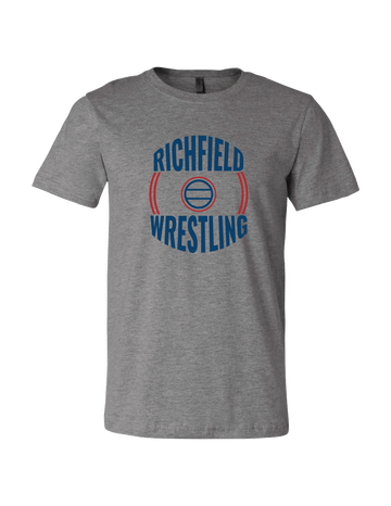 Richfield Wrestling Grey TShirt