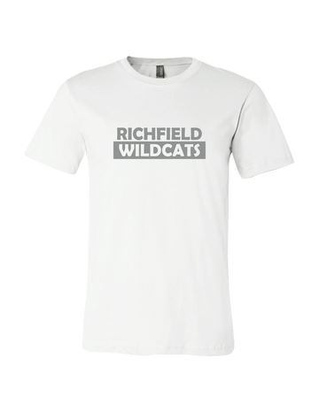 Richfield Wildcat White TShirt