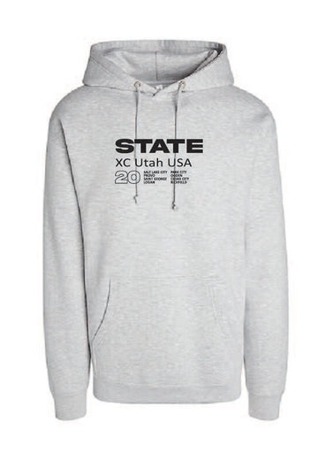 Athletic Grey X-Country Hoodie