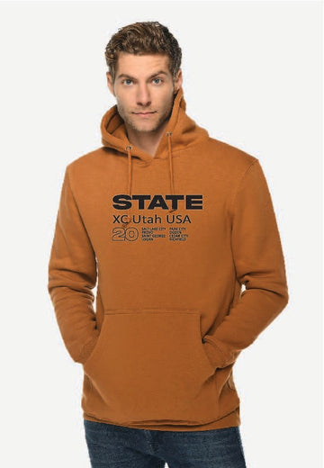 Rust X-Country Hoodie