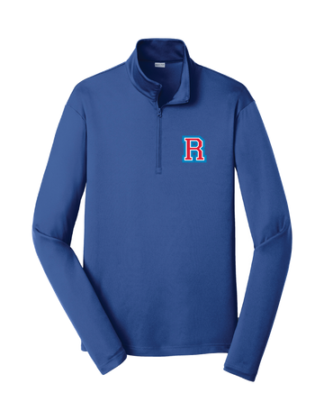 Richfield Wrestling R Blue Quarter Zip