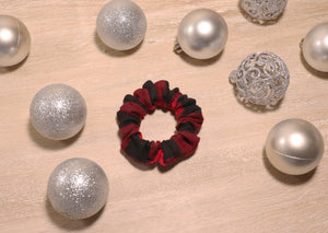 Buffalo Plaid Hair Scrunchie - Faszewski Studios