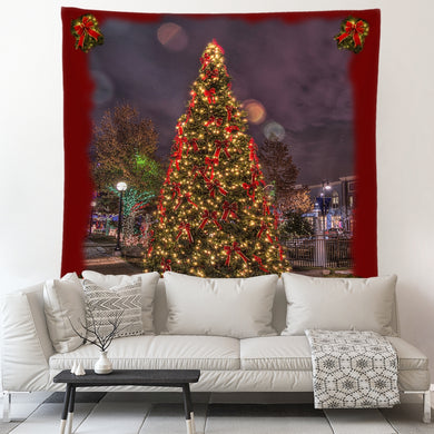 Christmas Tree Tapestry-Original Design with signature