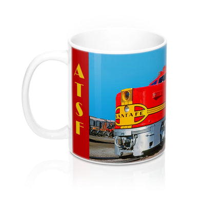 ATSF PA-1 Full Color Mug 11oz Original Photograph