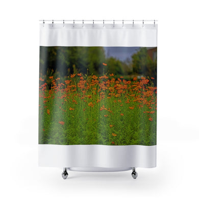 Flower Garden Shower Curtains