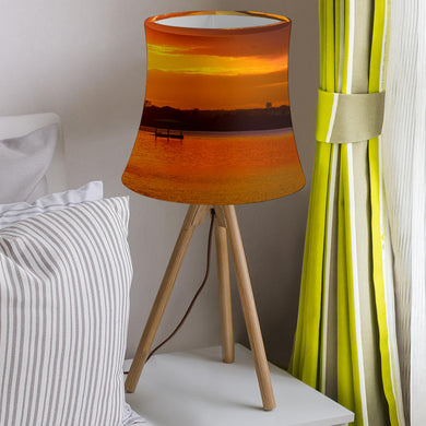 Lake Arlington Sunset Artistic  Lamp Shade