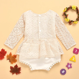Sharnie long sleeve lace romper