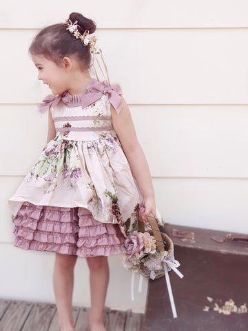 Angeline 2 piece set Spanish Lolita style dress