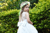 Raven Zia - Lacey flower girl dress