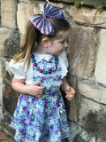 Maisie lace Pinafore