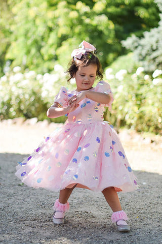 Raven Zia - Nevaeh Short sleeves sequins Wedding or party and event girl's dress