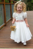 Raven Zia- Summer vintage style flower girl dress