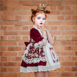 ♥️ Paris The Red Queen inspired luxury theme dress