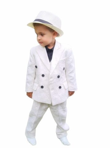 Boys custom suit
