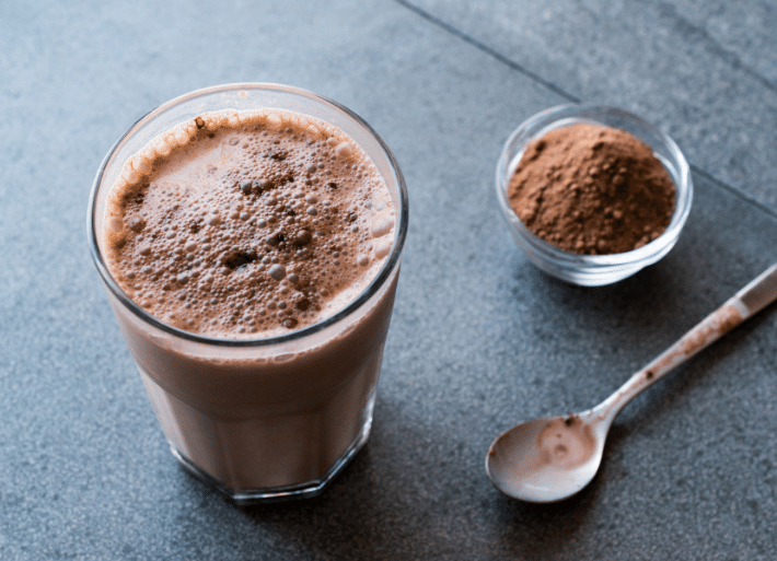 Chocolate milk is one of the best recovery drinks for triathletes