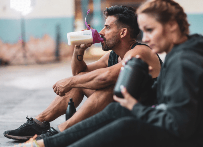 Recovery drinks for Repair : Protein recovery drinks for triathletes