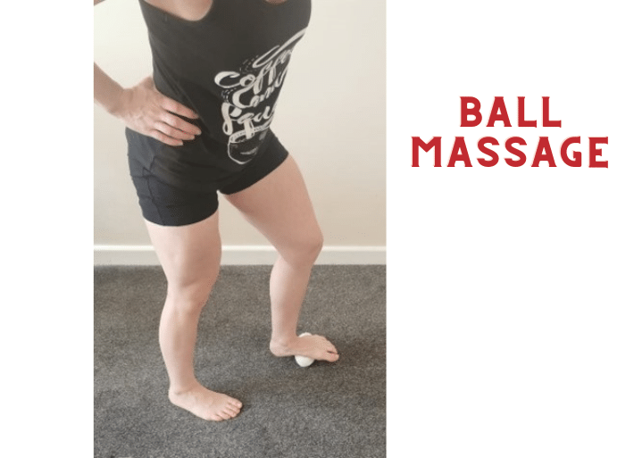 Exercises to prevent and treat shin splints | Common injuries for triathletes and runners | Ball massage