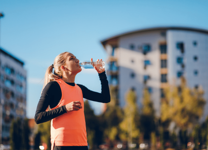 Is water a good sports rehydration drink?